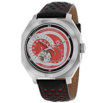 Christian Van Sant Men's Machina Red Dial Uhr - CV0561