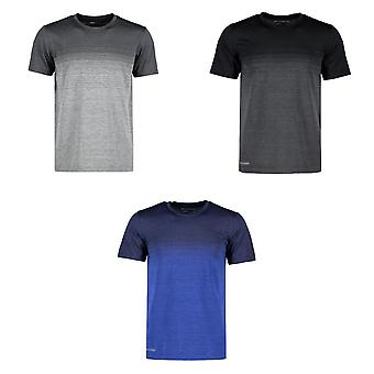 ID Mens Geyser Seamless Striped T-Shirt