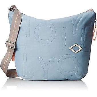 Oilily Spell Shoulderbag Lhz - Blue Women's Shoulder Bags (Light Blue) 8x32x40 cm (B x H T)