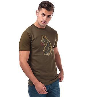 Män & apos; s Luke 1977 Spliono Tone 3d Lion T-shirt i grönt