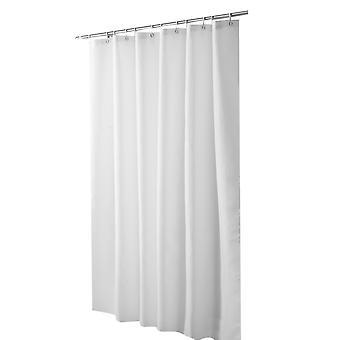 YANGFAN Solid Color Polyester Waterproof Mildew Resistant Shower Curtain