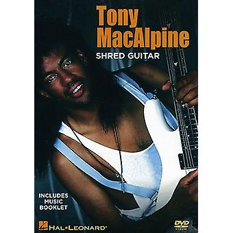 Tony Macalpine - Shred Guitar [DVD] USA import