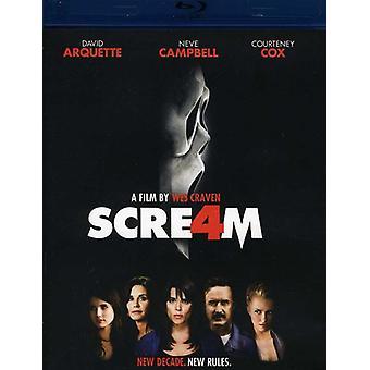 Scream 4 [BLU-RAY] USA import