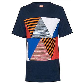 MISSONI Mare Patchwork Navy T-Shirt