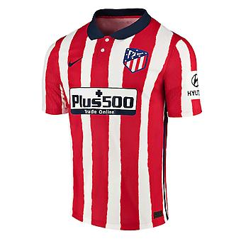2020-2021 Atletico Madrid Authentic Vapor Home Shirt