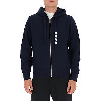 Thom Browne Mjt231a03034415 Men's Blue Cotton Sweatshirt