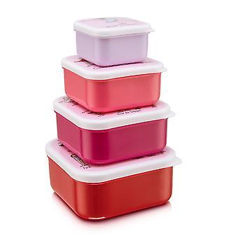 Tyrrell Katz Ballet 4pc Square Snack Boxes