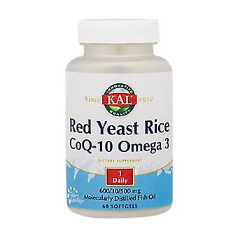 Red Yeast Rice Co-Q10 Omega 3 60 capsules