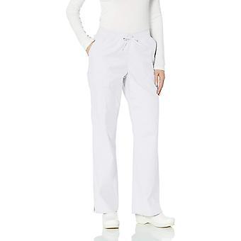 Essentials Women's Quick-Dry Stretch Scrub Pant, Branco, Pequeno