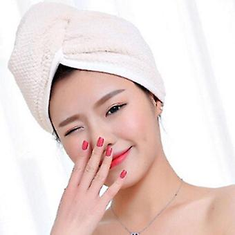 Twist Dry Shower Microfiber Hair Wrap Towel - Drying Bath Spa Head Cap