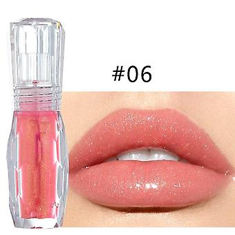 Moisturizer Plumper Long Lasting Sexy Big Lips Pump Transparent Waterproof Volume Lip Lip Gloss
