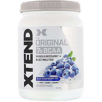 Xtend, Xtend, The Original 7G BCAA, Blue Raspberry Ice, 1.5 lb (700 g)