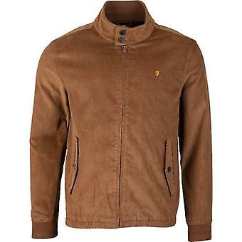 Farah Bowie Cord Harrington Jacket