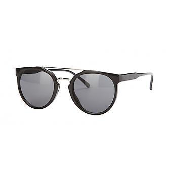 نظارات شمسية Unisex Cat.3 الدخان الأسود / الفضة (amu19210f)