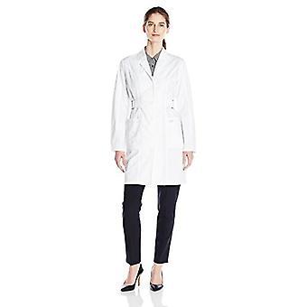 Dickies Mujeres's GenFlex 36 pulgadas Lab Coat, Blanco, XXX-Grande