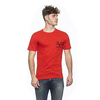 Rosso red round neck t-shirt