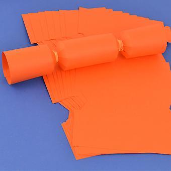 100 Orange Make & Fill Your Own DIY Reyclable Cracker Boards - Bulk Buy