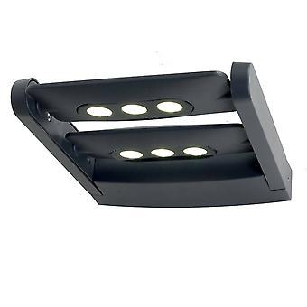 LED 6 Licht wandlicht - Grafietafwerking