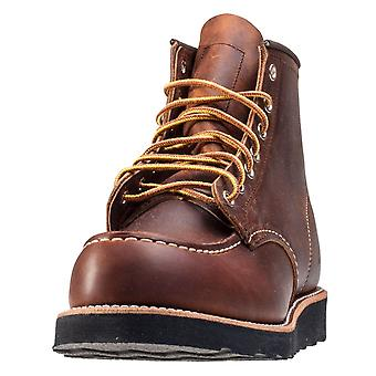 Red Wing 6-inch Moc Toe Mens Classic Boots in Koper