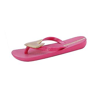 Ipanema Passion Girls Beach Flip Flops / Sandals - Pink and Gold