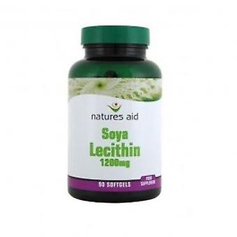 Natures Aid - Lecithin 1200mg 90 capsule