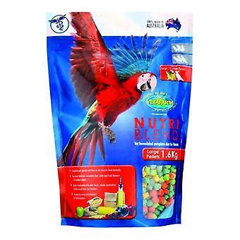 Nutriblend suuret pelletit 1,6 kg Vetafarm