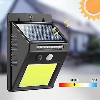 Rechargeable Solar-light 48-led, Waterproof Pir Motion Sensor Wall Lamp