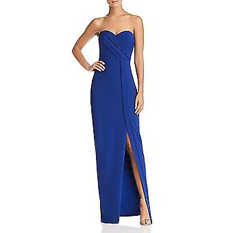 Bariano | Strapless Column Gown