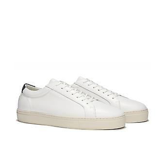 Uniform Standard Series 1 Vintage White Leather Trainers