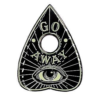 Kreepsville 666 Go Away Glow Planchette Enamel Pin