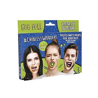 Chinless Wonders Gob Full Mask (Pack of 10)
