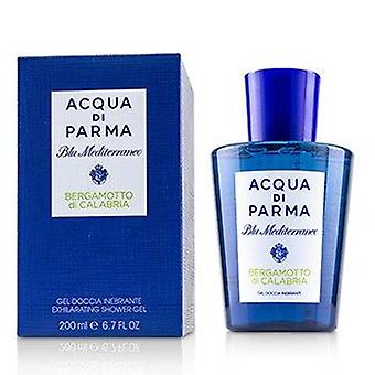 Blu Mediterraneo Bergamotto Di Calabria Exhilarating Shower Gel (New Packaging) 200ml or 6.7oz