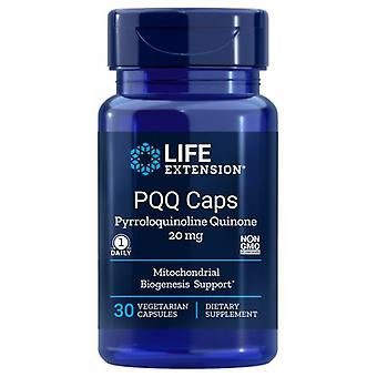 """מכסי PQQ להארכת חיים עם BioPQQ, 20 מ""""ג, 30 כמוסות VEG"""