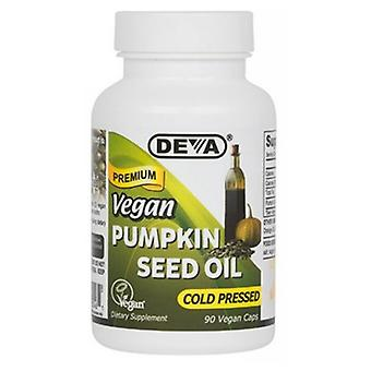 Deva Vegan Vitamins Vegan Pumpkin Seed Oil, 90 Vcaps