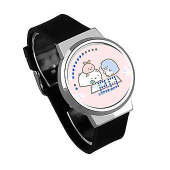 Relógio Luminoso LED Digital Touch Children - Sumikkogurashi #33