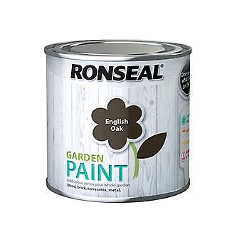 Ronseal Garden Paint English Oak 250ml RSLGPEO250