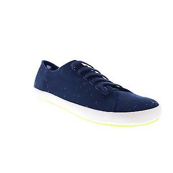 Camper Peu Rambla Vulcanizado  Mens Blue Euro Sneakers Shoes