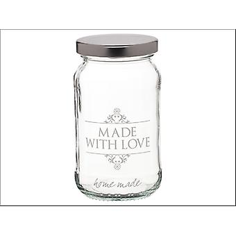 Kitchen Craft Home Made Decor Love Jar 454ml KCHMJARLOVE