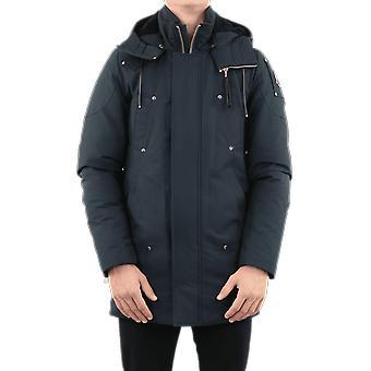 Moose Knuckles Stirling Parka Non Fur Blue MK39MP261N555Outerwear