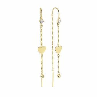 Pendant Heart Gold Earring
