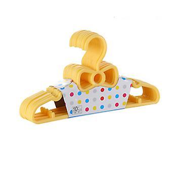 YANGFAN 10 Pc's Kids Bowknot Plastic Hangers