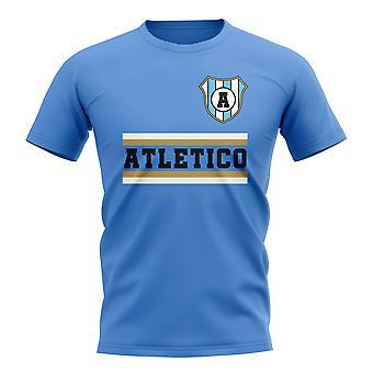 Atletico Tucuman Core Fotballklubb T-skjorte (Sky)