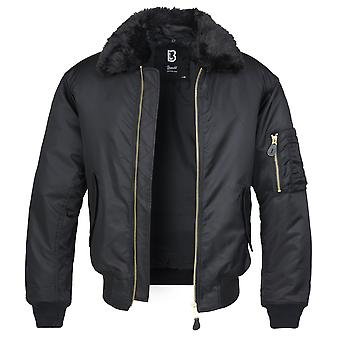 Brandit Men's Winter Jacket MA2 Fur Collar