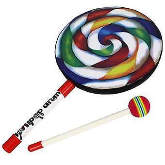 A-Star Lollipop Handtrommel mit Beater
