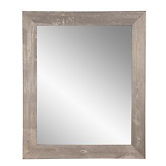Urban Frontier Barnwood Encadré Vanity Wall Mirror 22''X 32''