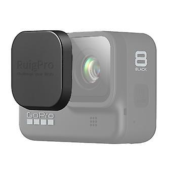 GOPro HERO8ブラックプロフェシオンスクラッチ耐性カメラレンズ保護キャップカバー(ブラック)