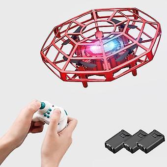 Mini drone Ufo, control de detección de infrarrojos, juguete de avión volador a mano