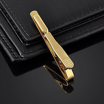 Men Stainless Steel Tie Bar Clip Clamp Pin.