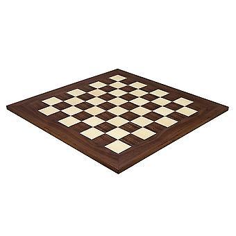 21,7 pulgadas Montgoy palisandro y arce tablero de ajedrez Deluxe