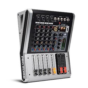 4 κανάλια ανάμειξη κονσόλα με σίγαση και PFL διακόπτη - Usb Audio Mixer
